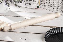 PRACTIC Wałek do pizzy 40 cm drewniany