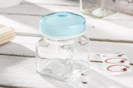 PRACTIC Przyprawnik szklany z wieczkiem - mix kolorów