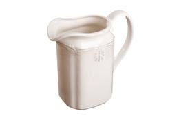 MANUFAKTURA CHODZIESKA ROMAN ECRU Dzbanek na mleko lub wodę 2 L