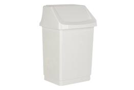 Curver Click It kosz na śmieci uchylny 15 L biały