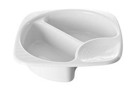 PLAST TEAM Miska plastikowa higieniczna dla niemowląt biała
