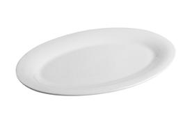 Półmisek owalny 35 x 24.5 cm biały