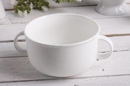 Bulionówka porcelanowa 850 ml biała