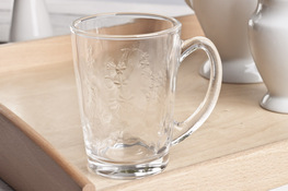 Kubek szklany, szklanka 300 ml