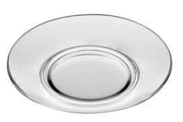 JASŁO Talerz płytki szklany okrągły 26 cm