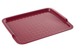 CURVER Taca barowa plastikowa 42.5 x 32.5 cm czerwona