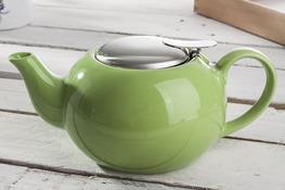 Dzbanek do herbaty 0.5 L z zaparzaczem - mix kolorów