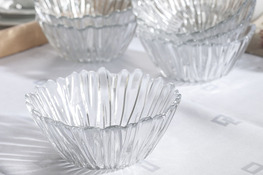 PASABAHCE AURORA Salaterka szklana hartowana 14 cm