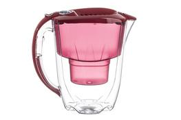 AQUAPHOR AMETYST Dzbanek z filtrem do wody 2.8 L czerwony