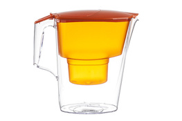 AQUAPHOR TIME Dzbanek z filtrem do wody 2.5 L pomarańczowy
