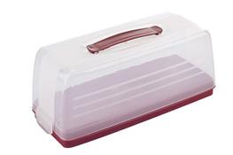 CURVER Pojemnik na ciasto prostokątny 33 x 13 cm czerwony