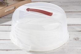 CURVER Pojemnik na ciasto okrągły 33 cm biały