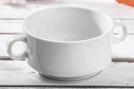 Bulionówka porcelanowa 600 ml biała