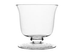 IRENA Bombonierka szklana na stopce 22 cm