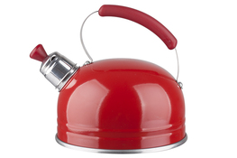 ARTMET Czajnik z gwizdkiem 1.25l czerwony 090
