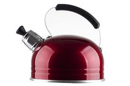 ARTMET Czajnik z gwizdkiem 1.25l czerwony 090T
