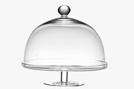 IRENA Patera szklana 29.5 cm z kloszem