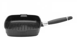 BERGHOFF Patelnia grillowa VIRGO 24 cm DARK indukcja