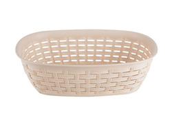 Katex Rattan koszyk na chleb 30 x 22 cm beżowy