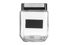 Słój, słoik szklany kwadratowy z zakrętką 11x11x14cm 1.24l