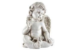 Figurka dekoracyjna aniołek 19x22x25.5cm