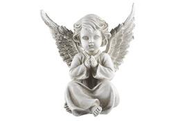 Figurka dekoracyjna aniołek 16x12x17.5 cm - mix wzorów