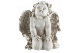 Figurka dekoracyjna aniołek 14.5x12.5x16.5 cm - mix wzorów