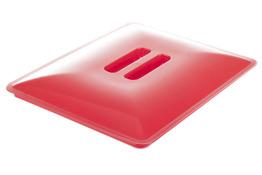 ARTGOS Pokrywa wiadra 15 L prostokątnego czerwona