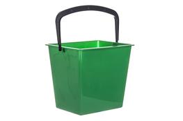 ARTGOS Wiadro prostokątne 15 L zielone