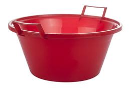 ARTGOS Miska plastikowa 9 L 35 cm czerwona