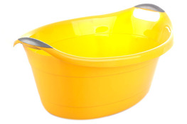 ARTGOS Miska plastikowa 25 L żółta