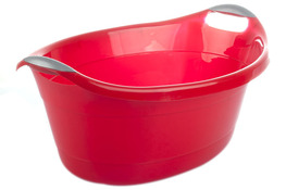 ARTGOS Miska plastikowa 25 L czerwona