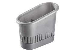 PLAST TEAM Ociekacz na sztućce srebrny