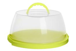 PLAST TEAM Pojemnik na ciasto 31.2x15cm zielony