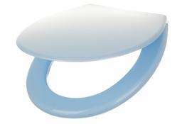 ARTGOS Deska sedesowa regulowana błękitna