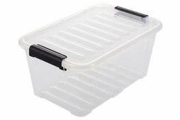 PLAST TEAM HOME BOX Pojemnik z pokrywką 8 L bezbarwny