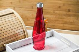 Butelka szklana ozdobna 1 L - mix wzorów
