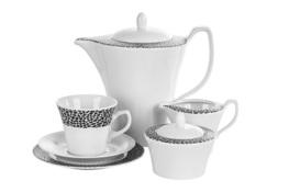 CHODZIEŻ VENUS BLACK & WHITE Serwis kawowy 39/12 K244