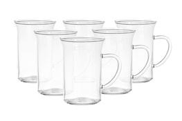 TERMISIL Komplet 6 szklanek żaroodpornych 250 ml