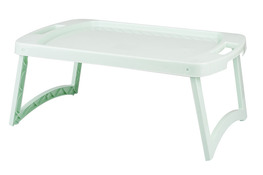 ARTGOS Stolik plastikowy do łóżka 55.5 x 33 cm seledynowy