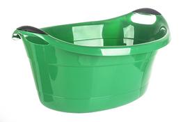 ARTGOS Miska plastikowa owalna 25 L - zielona