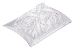 Maselnica szklana 17 x 12 x 8.5 cm