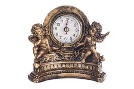 Figurka dekoracyjna Aniołek z zegarem