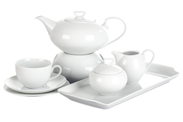 CHODZIEŻ YVETTE BIAŁA LINEA Serwis herbaciany 41/12 E755