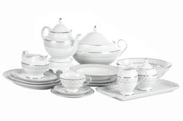 CHODZIEŻ ASTRA HARLEQUIN Serwis obiadowy i herbaciany 86/12 G077