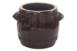 BOLESŁAWIEC Garnek ceramiczny, beczka kamionka 20 L