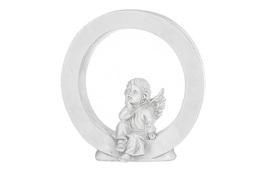 Literka O figurka z aniołkiem 13 cm