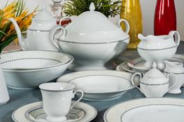 CHODZIEŻ ASTRA MARZENIE Serwis obiadowy i herbaciany 85/12 K601