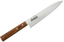 MASAHIRO Nóż japoński SANKEI uniwersalny ostrze 150 mm brązowy