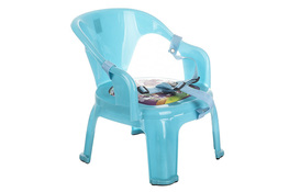 Krzesełko dziecięce z zapięciem - mix kolorów